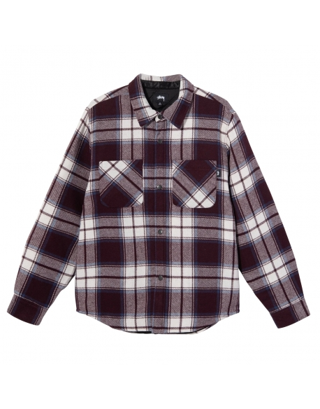 STUSSY MAX PLAID QUILTED