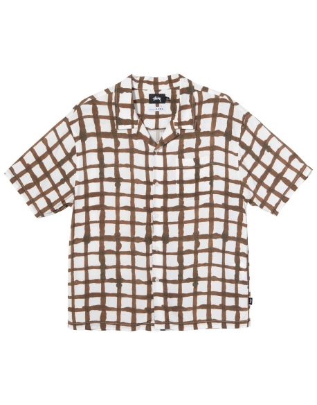 STUSSY HAND DRAWN GRID SHIRT