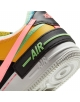NIKE AIR FORCE 1 SHADOW SE SOLAR FLARE / ATOMIC PINK / BALTIC BLUE