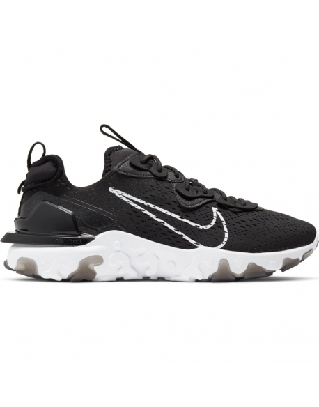 NIKE REACT VISION BLACK WHITE