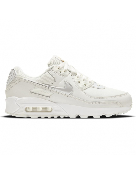 "NIKE AIR MAX 90 WMNS SHOELERY ""SUMMIT WHITE"""
