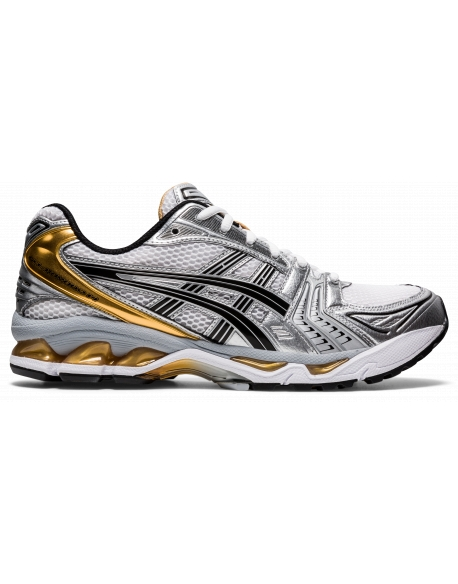 ASICS GEL-KAYANO 14 WHITE/PURE GOLD