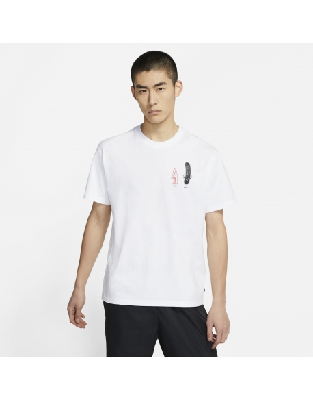NIKE SB TEE FRIENDS WHITE