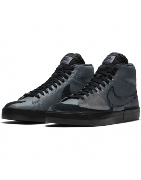NIKE SB ZOOM BLAZER MID EDGE IRON GREY/BLACK-BLACK