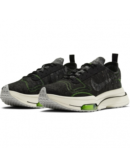 NIKE AIR ZOOM-TYPE BLACK/BLACK-ELECTRIC GREEN-LIGHT BONE