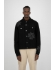 ARTE JOSH DENIM TREVO JACKET BLACK