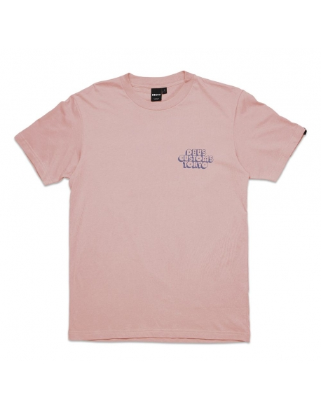 DEUS CRUZ TEE DUSTY PINK