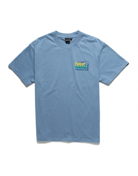 DEUS BARRACUDA TEE BARREL BLUE