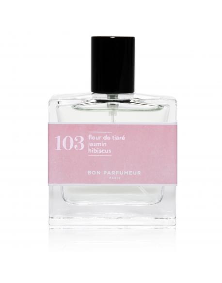 103 : fleur de tiaré / jasmin / hibiscus