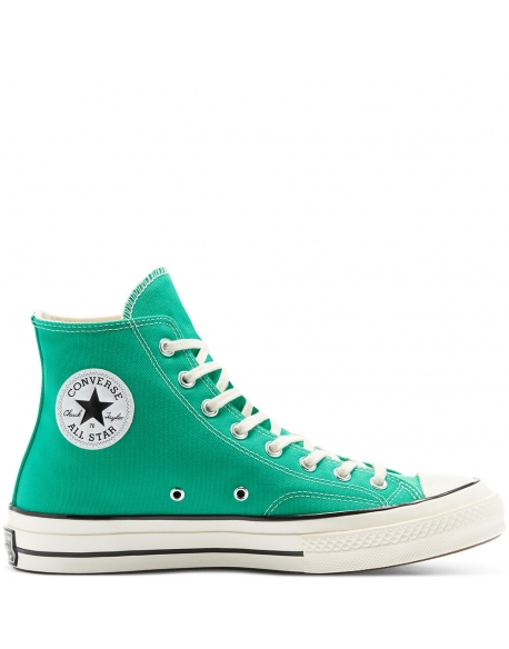 CONVERSE CHUCK 70 RECYCLED CANVAS - HI COURT GREEN