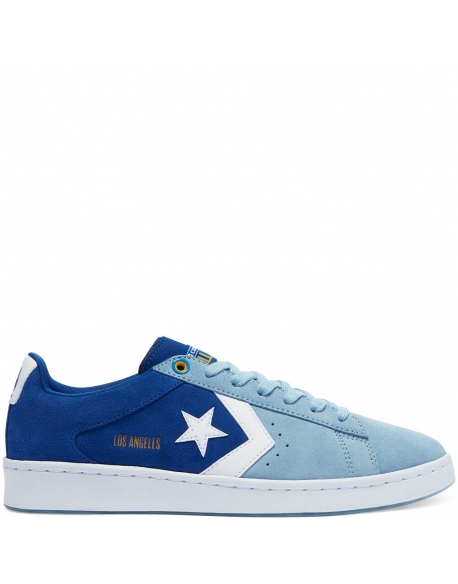 CONVERSE PRO LEATHER HEART OF THE CITY - OX - RUSH BLUE