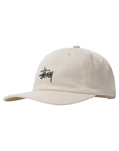 STUSSY STOCK LOW PRO CAP NATURAL