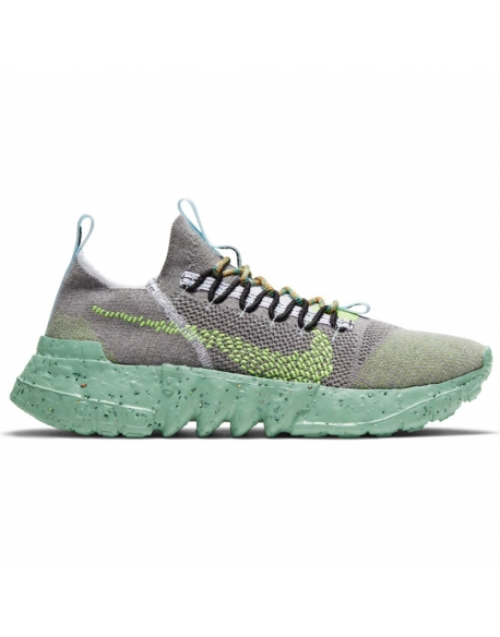 NIKE SPACE HIPPIE 01 WOLF GREY/VOLT