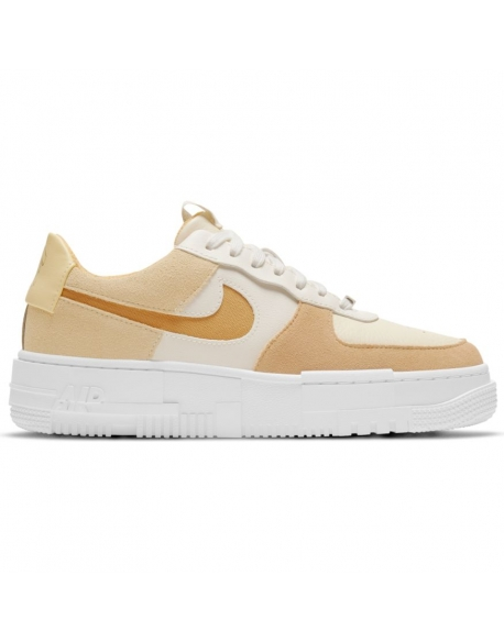NIKE AIR FORCE 1 PIXEL WMNS SAIL/BUCKTAN-COCONUT MILK-LEMON