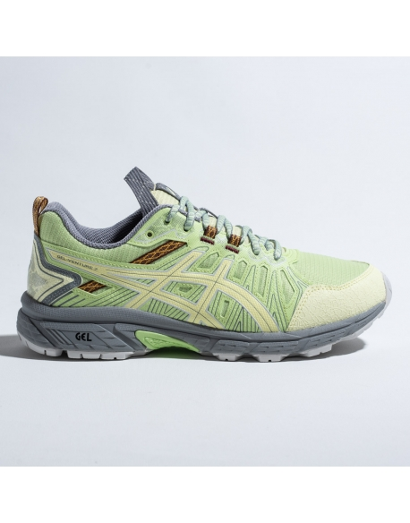 "ASICS HN1-S GEL-VENTURE 7 ""LIME GREEN/HUDDLE YELLOW"""