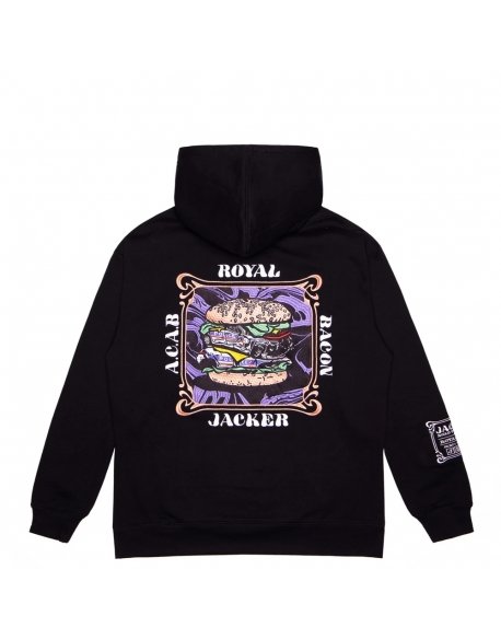 JACKER ROYAL BACON HOODIE BLACK