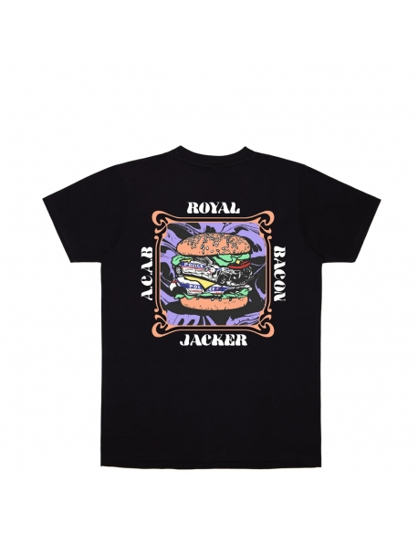 JACKER ROYAL BACON T-SHIRT BLACK
