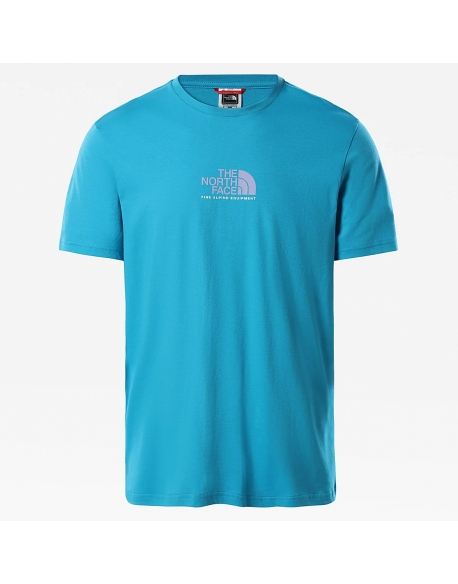 THE NORTH FACE FINE ALPINE EQUIPMENT TEE 3 MERIDIAN BLUE