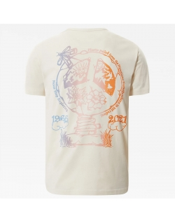THE NORTH FACE HIMALAYAN BOTTLE SOURCE TEE VINTAGE WHITE