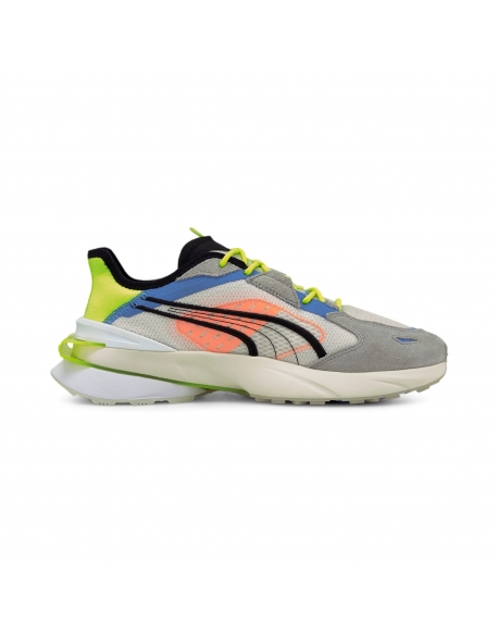 PUMA OP1 PWRFRAME ABSTRACT FLUO YELLOW