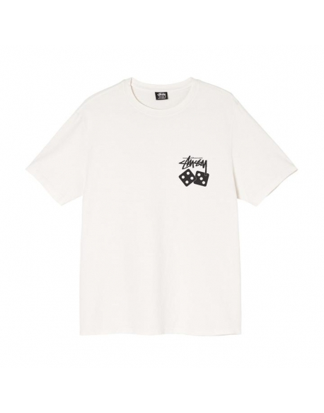 DICE PIG. DYED TEE-NATURAL