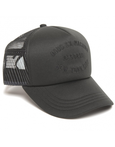 Deus Ex Machina House Trucker Noir