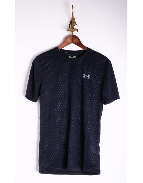 Under Armour HeatGear Threadborne Embossed Trainingsshirt