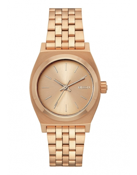 Nixon Medium Time Teller Rose Gold