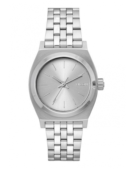 Nixon Medium Time Teller All Silver
