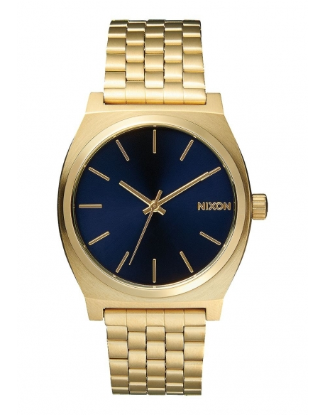 Nixon Time Teller All light Gold / Cobalt