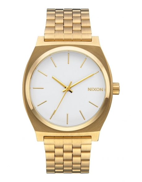 Nixon Time Teller Gold / White