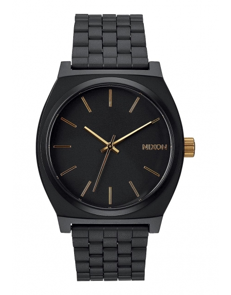 Nixon Time Teller Matte Black / Gold