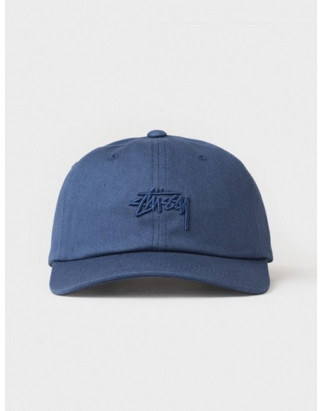 Stussy Tonal Stock Low Cap Navy