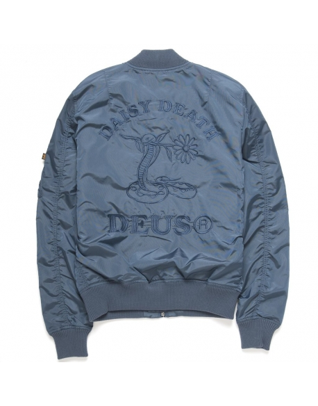 Deus MA 1 Flight Jacket Blue
