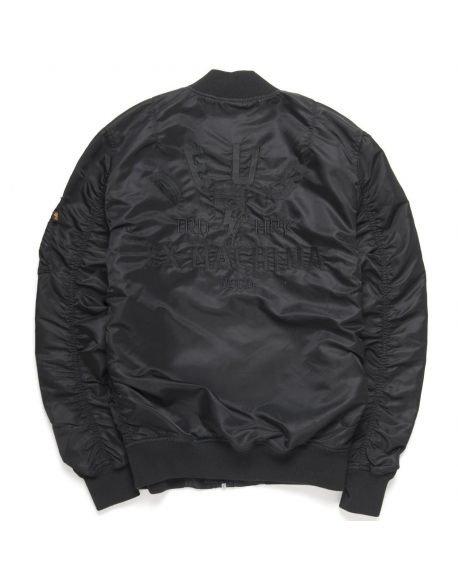 Deus MA 1 Flight Jacket Black
