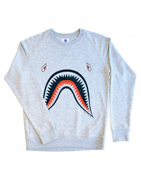 Jonsen Sweat Falco Jaws Grey