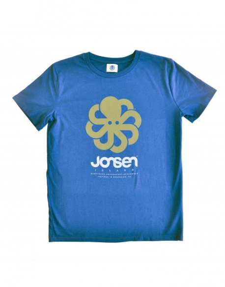 Jonsen T-shirt classic Big Royal Blue