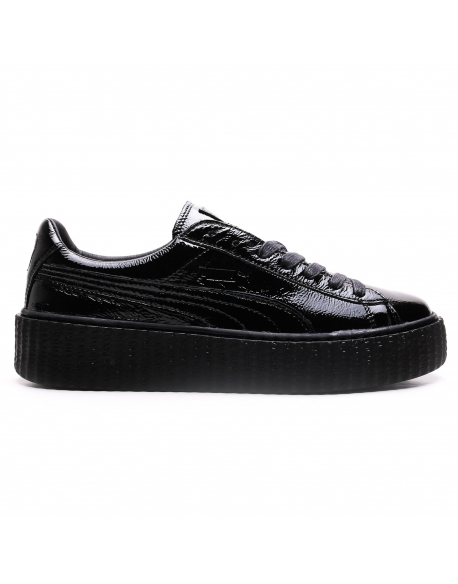 Puma FENTY Rihanna Creepers Cracked Leather Black
