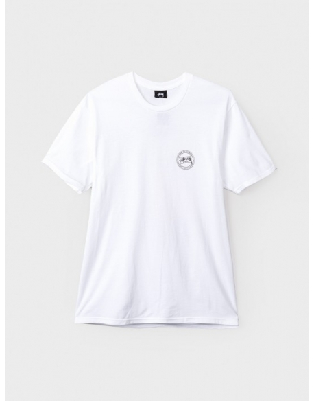 Stussy Tee Isle of Dreams White