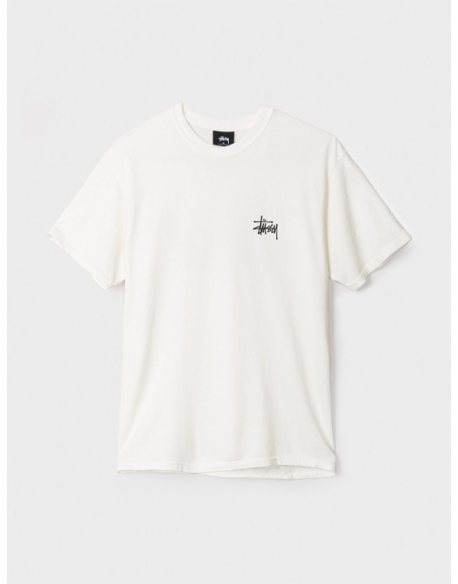Stussy Basic Tee Pig Dyed Natural