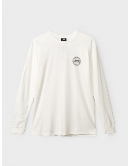 Stussy Tee Halftone dot Pig Dyed LS