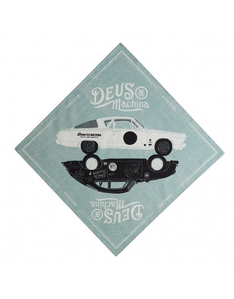 Deus Carby Art Bandana Mint