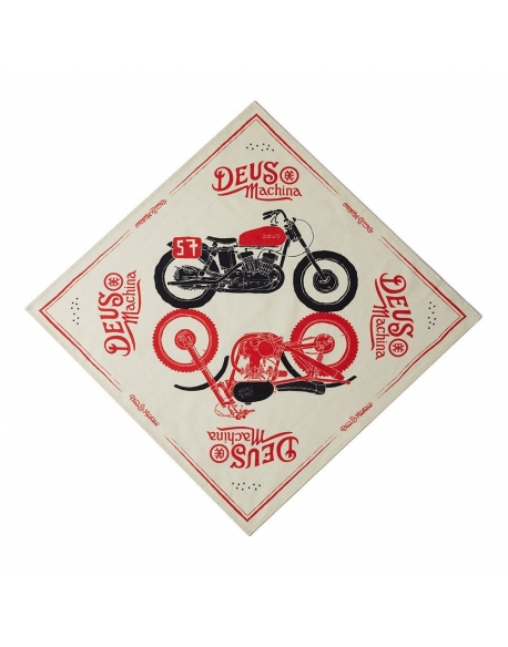 Deus Carby Art Bandana Cream