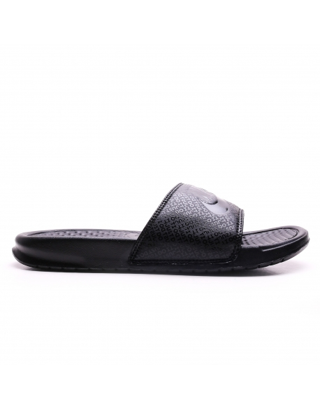 "MEN'S NIKE BENASSI""JUST DO IT""SANDAL BLACK"