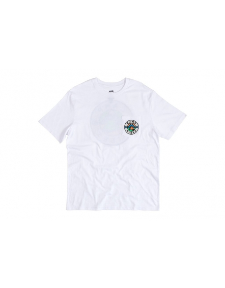 POLER APPAREL CAMP TEE WHITE