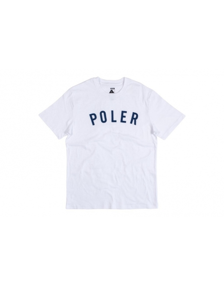 POLER APPAREL STATE TEE WHITE