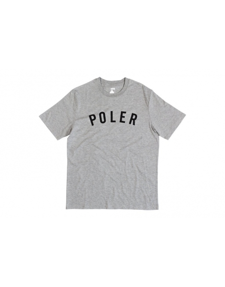 POLER APPAREL STATE TEE GREY