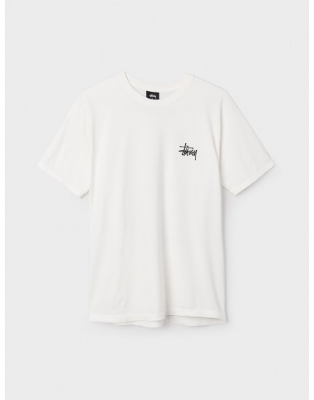 STUSSY ST FIRE DRAGON PIG DYED TEE -NATURAL