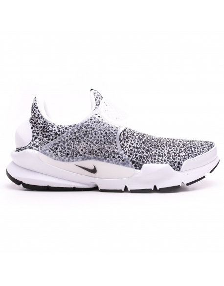 NIKE SOCK DART QS SAFARI WHITE/BLACK