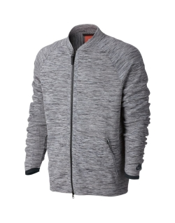 MEN'S NIKE SPORTWERA TECH KNIT JACKET CARBON HEATHER